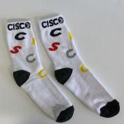 Meia Cisco Skate Cano Alto Collors