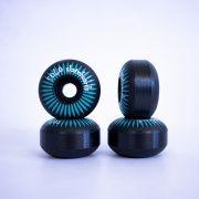 Roda Solo Decks Semi Profissional Black 52mm/92a