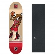 "Shape Cisco Skate Fiber Decks Basquetball 8"" + Lixa Emborrachada"