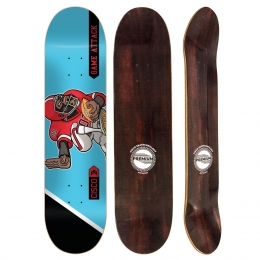 Shape Cisco Skate Fiber Decks Football 8.5""