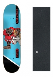 Shape Cisco Skate Fiber Decks Football 8.5 + Lx Emborrachada+ Pb