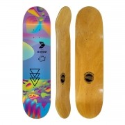 Shape Cisco Skate Fiber Decks Neon Blue 8.25
