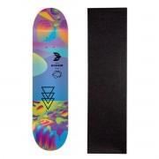 Shape Cisco Skate Fiber Decks Neon Blue 8