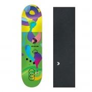 Shape Cisco Skate Fiber Decks Neon Green 8.125