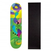 Shape Cisco Skate Fiber Decks Neon Green 8.125