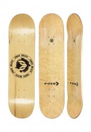 Shape Cisco Skate Maple Canadense Importado Logo Black