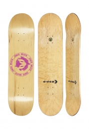 Shape Cisco Skate Maple Canadense Importado Logo Pink