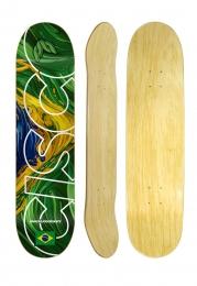 Shape Cisco Skate Marfim Braza - #Nossojogoéskate