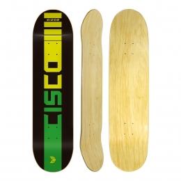 "Shape Cisco Skate Marfim Company Black 8.125"""