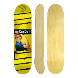 "Shape Cisco Skate Marfim Feminino Rosie 8"""