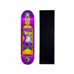 """Shape Cisco Skate Marfim Music Punk 7.75"""" + Lixa Grátis"""