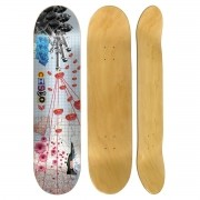 Shape Cisco Skate Marfim Peace 8.125
