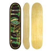 Shape de Skate Cisco Marfim Camu Green 8