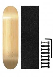 Shape de Skate Cisco Marfim Liso + Parafuso de Base + Lixa de Brinde