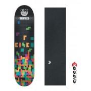 Shape De Skate Cisco Marfim Tetris/lixa Emborrachada 7.67