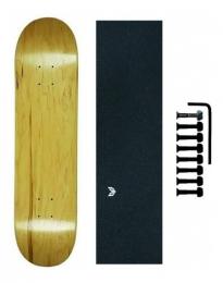 Shape Maple Canadense Cisco Skate Liso Lx Emborrachada + Pb