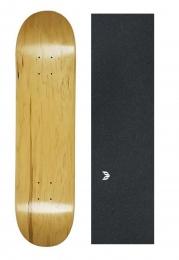 Shape Maple Canadense Importado Cisco Skate Liso + Lixa Emborrachada