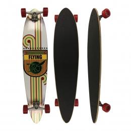 Skate Flying Longboards Speed Lines