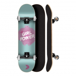 Skate Montado Profissional Cisco Feminino Girl Power Tifanny 8.0 - Abec 5