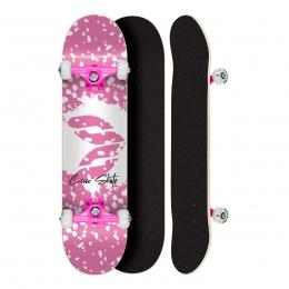 Skate Montado Profissional Cisco Feminino Splash - Abec 5