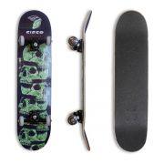 "Skate Montado Profissional Cisco Skull Green 7.75"" - Abec 7"