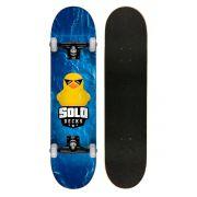 Skate Montado Profissional Solo Decks Duck - até 120kgs