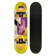 Skate Montado Profissional Solo Decks Pop Art 2 - Até 120kgs