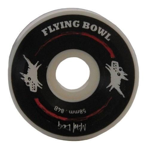 Roda Flying Longboards Mad Dog Black - Bowl 58mm