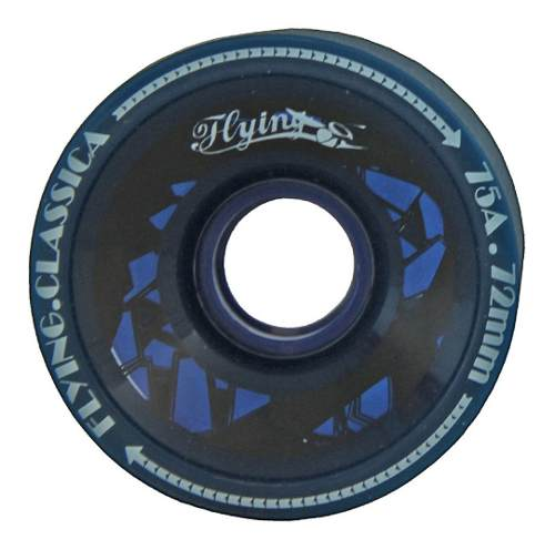 Roda Flying Longboards Blue 72mm 75a