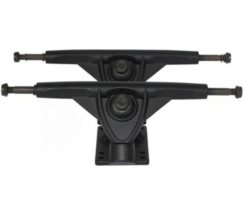 Truck Flying Skateboards 160mm Invertido Preto