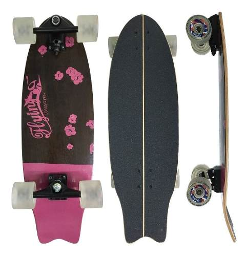 "Simulador De Surf Flying Flowers Pink Truck Importado 9.6"""