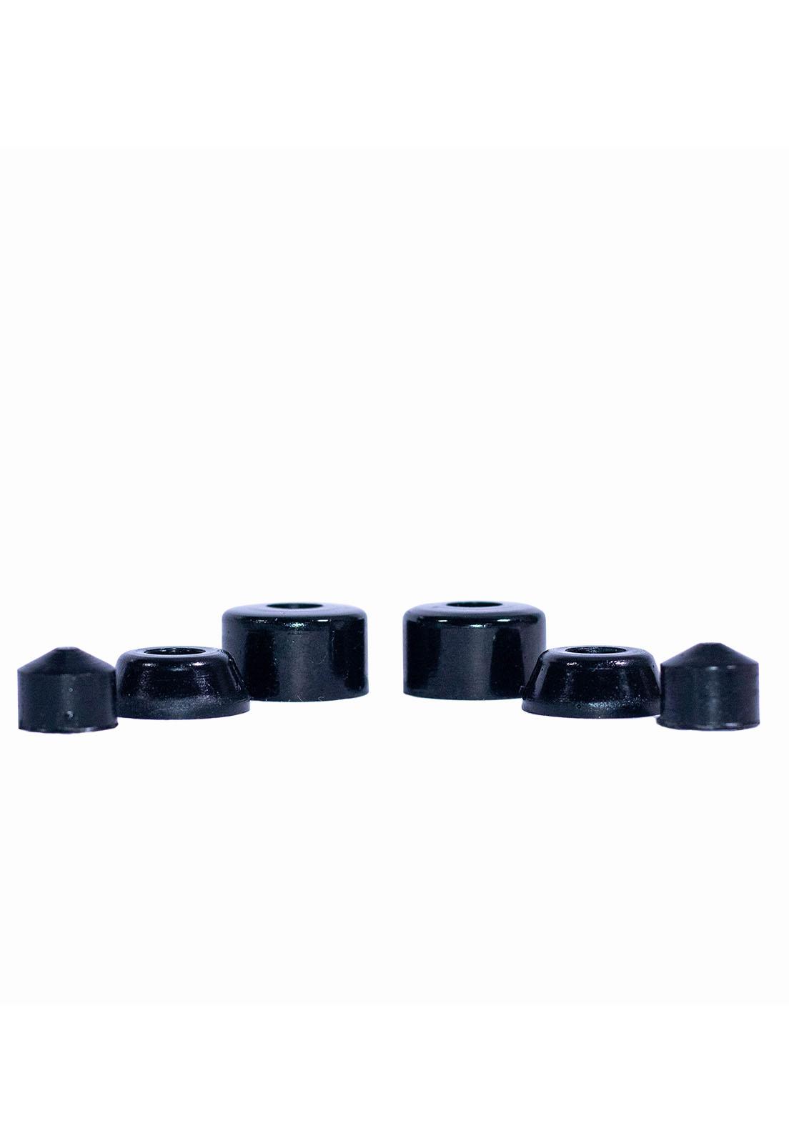 Amortecedor Poliuretano Fundido Conico 9,5mm Cisco Skate Black
