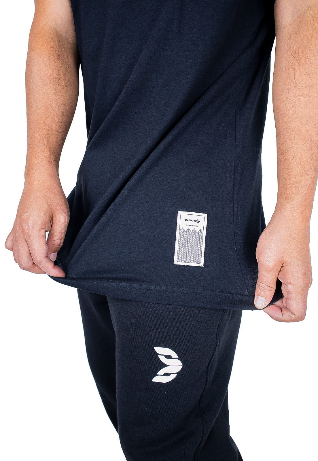 Camiseta Cisco Skate Clothing Basica Preta
