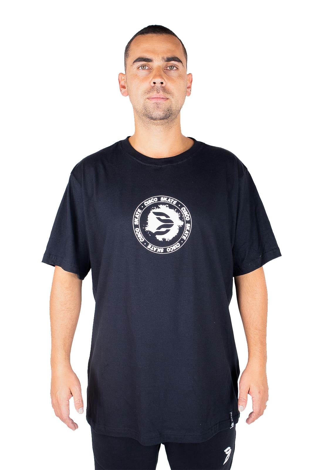 Camiseta Cisco Skate Clothing Brasão