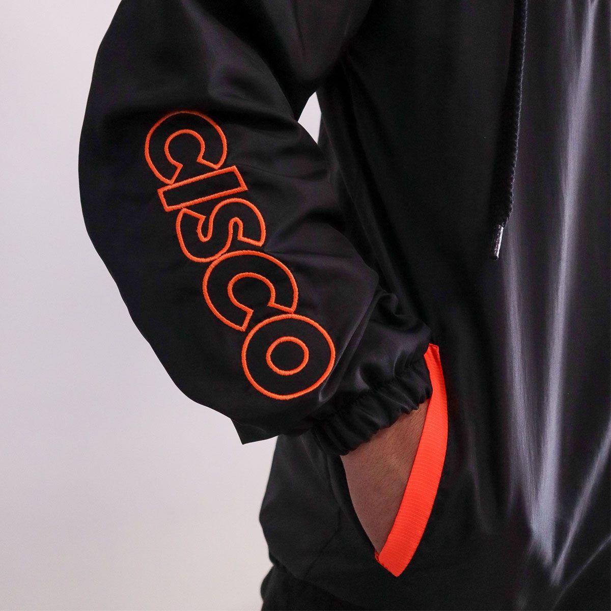 Jaqueta Corta Vento Cisco Neon Orange