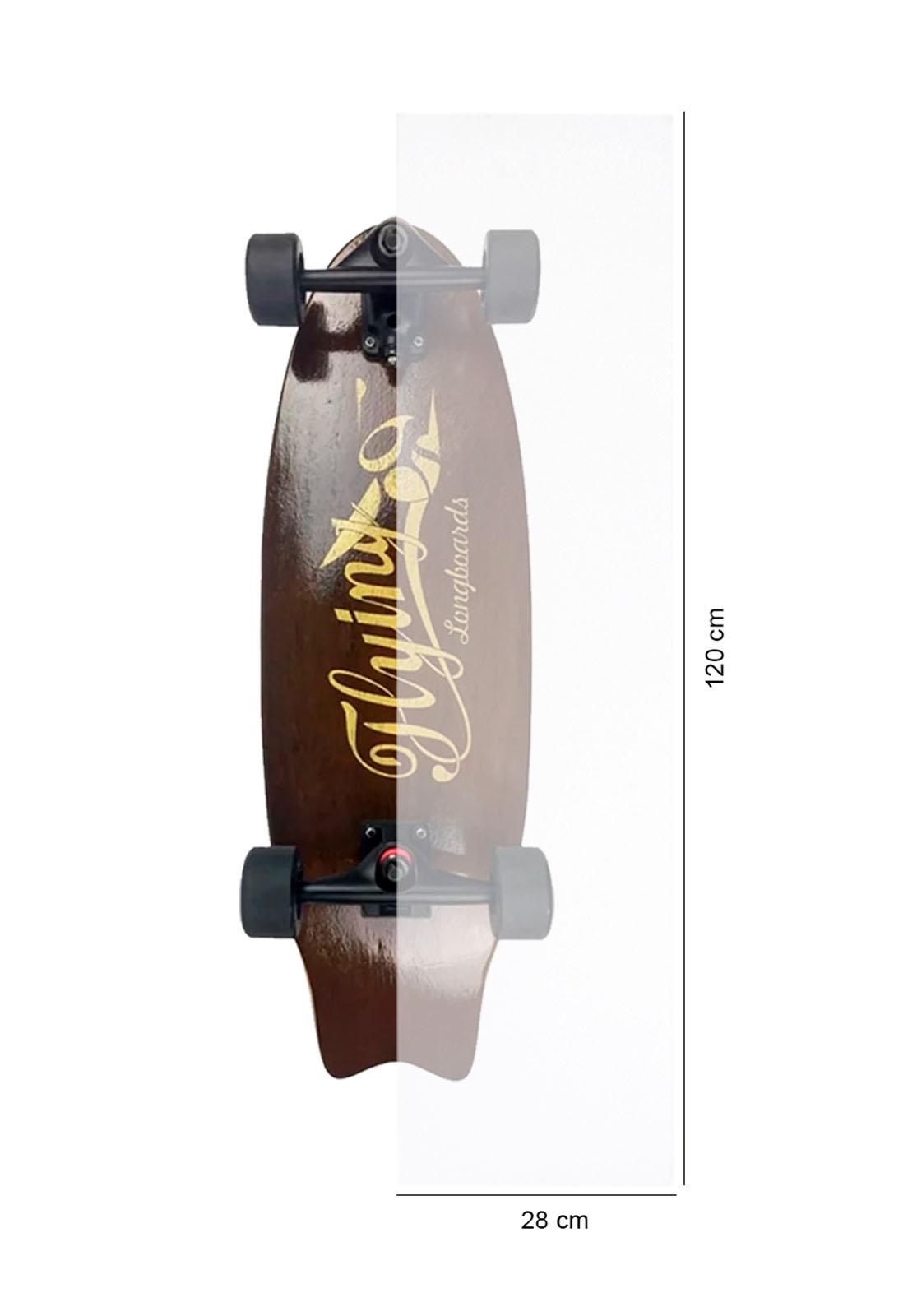 Lixa Para Longboard Transparente - 28X120cm - Envio Imediato