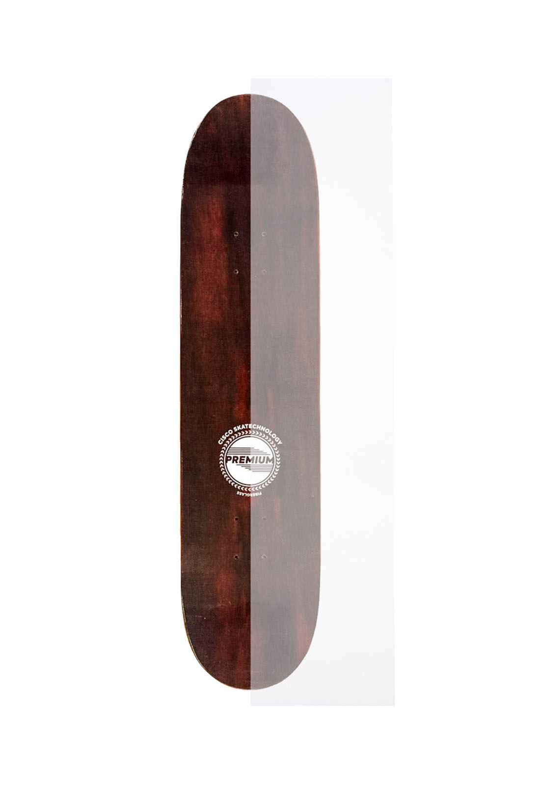 Lixa Para Skate Street Transparente - 82x21cm - Envio Imediato