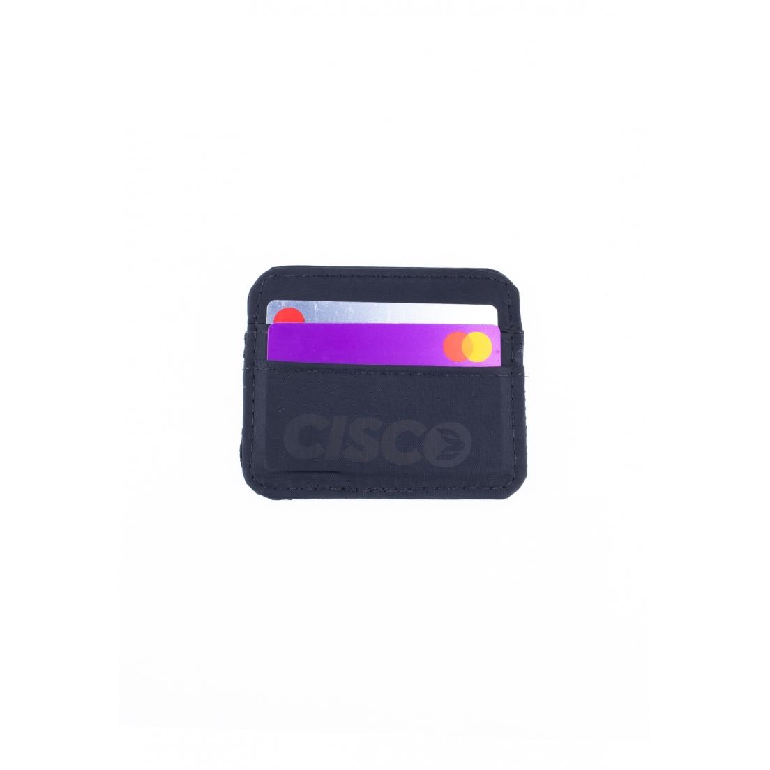 Porta Cartão Cisco Skate Escrita Black