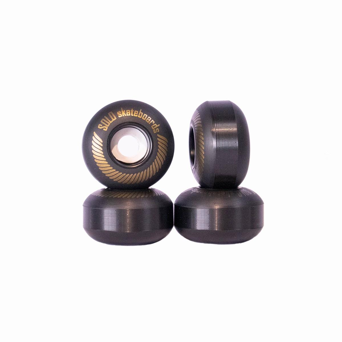 Roda Solo Decks Semi Profissional Classics Black 53mm/92a