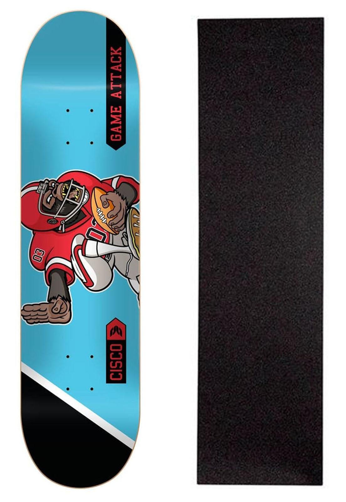 """Shape Cisco Skate Fiber Decks Football 8.5"""""""