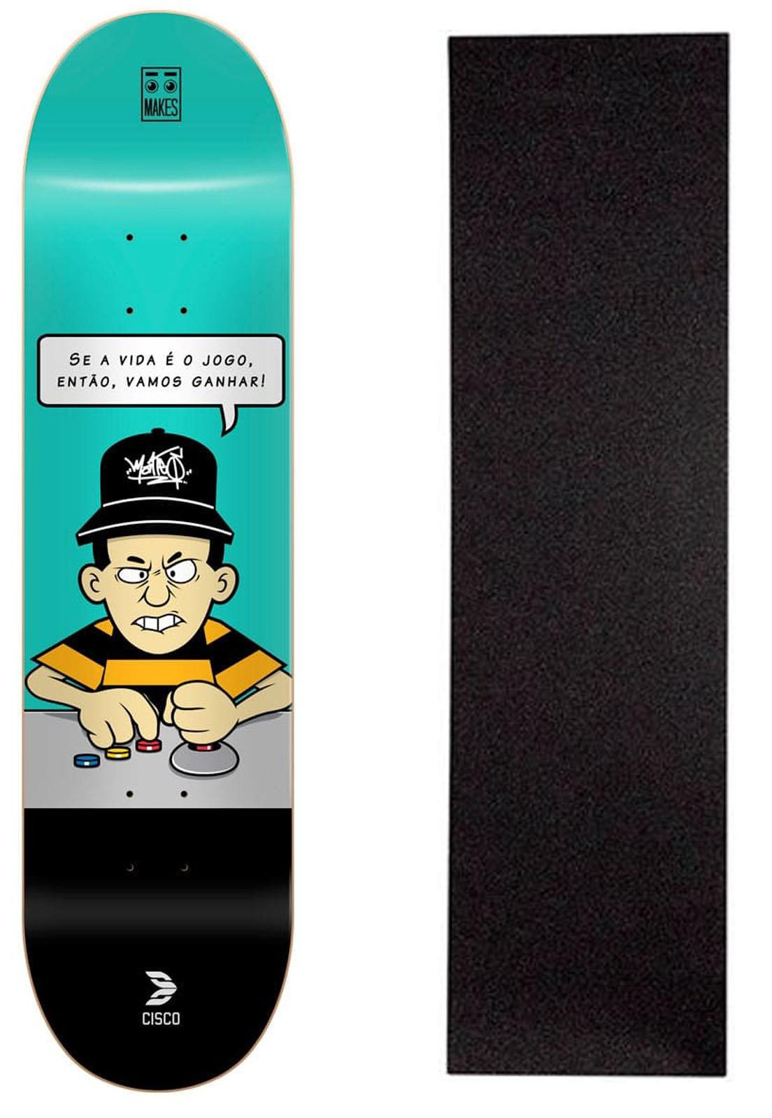 """Shape Cisco Skate Fiber Decks Makes no Jogo 8.125"""""""