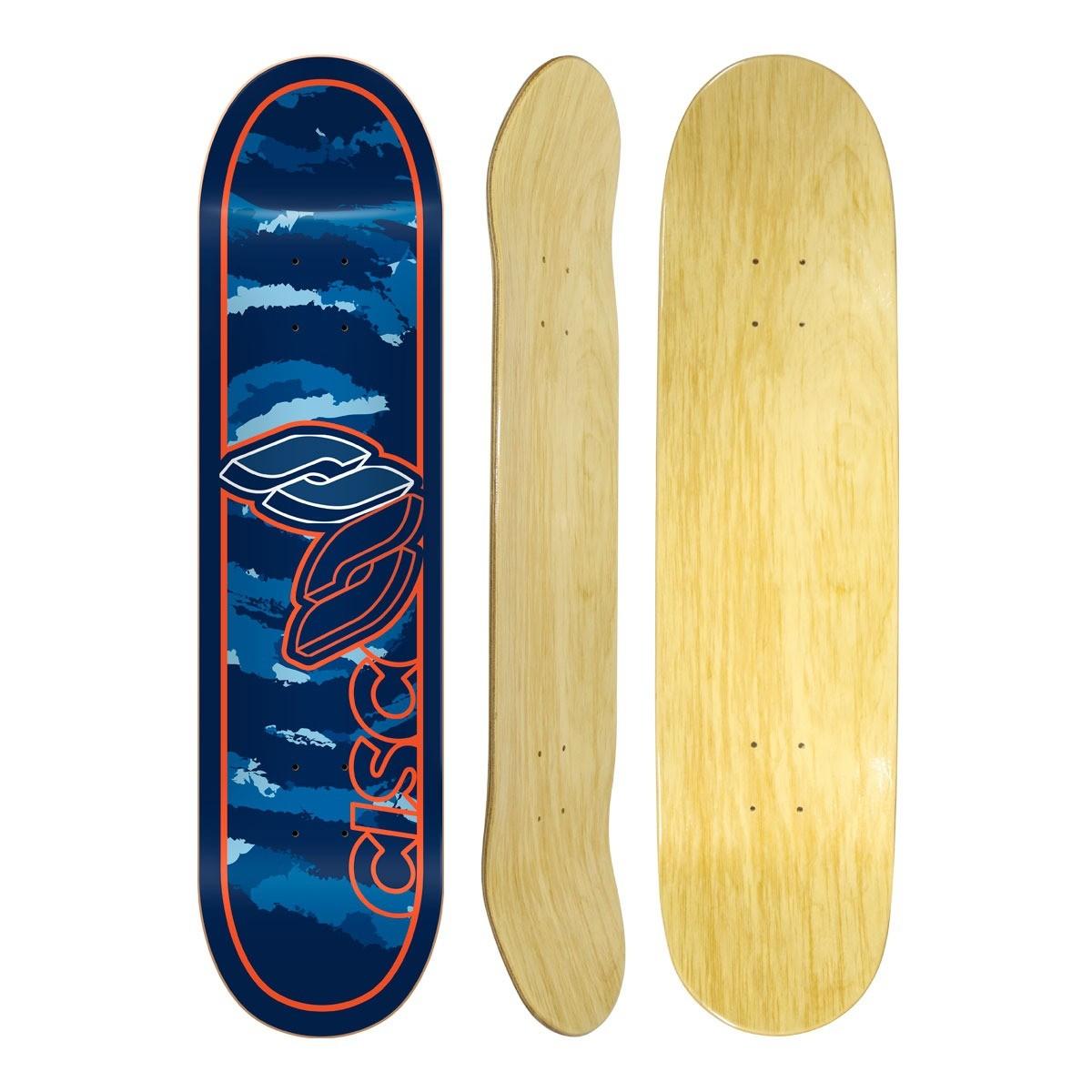 """Shape Cisco Skate Marfim Camu Blue 7.75"""""""