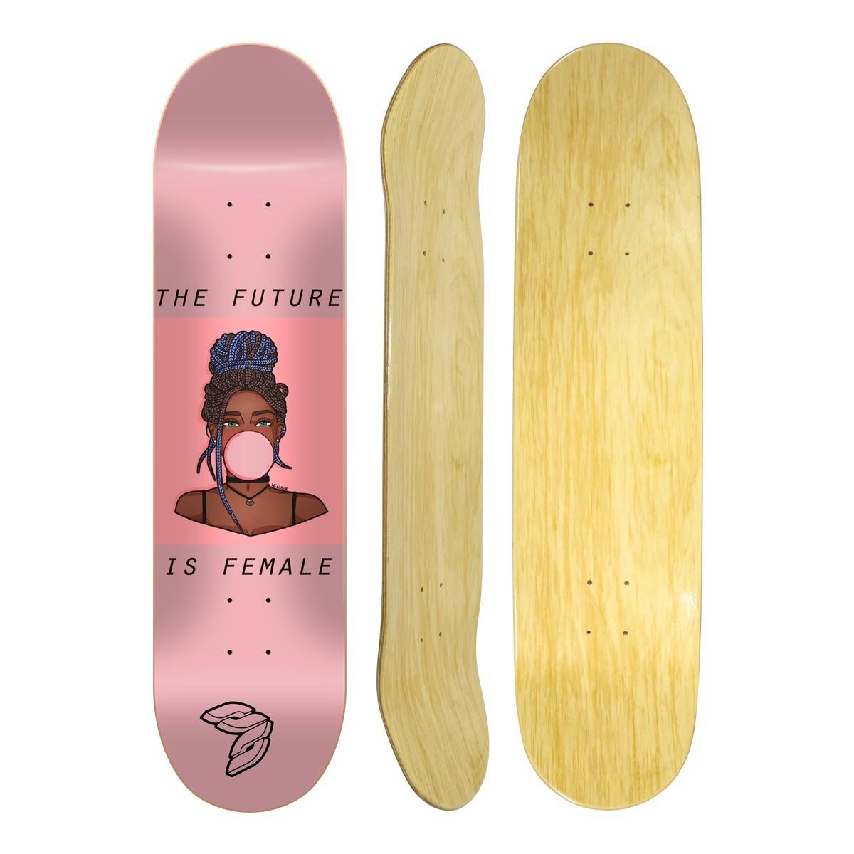 "Shape Cisco Skate Marfim Feminino Gum 8"""