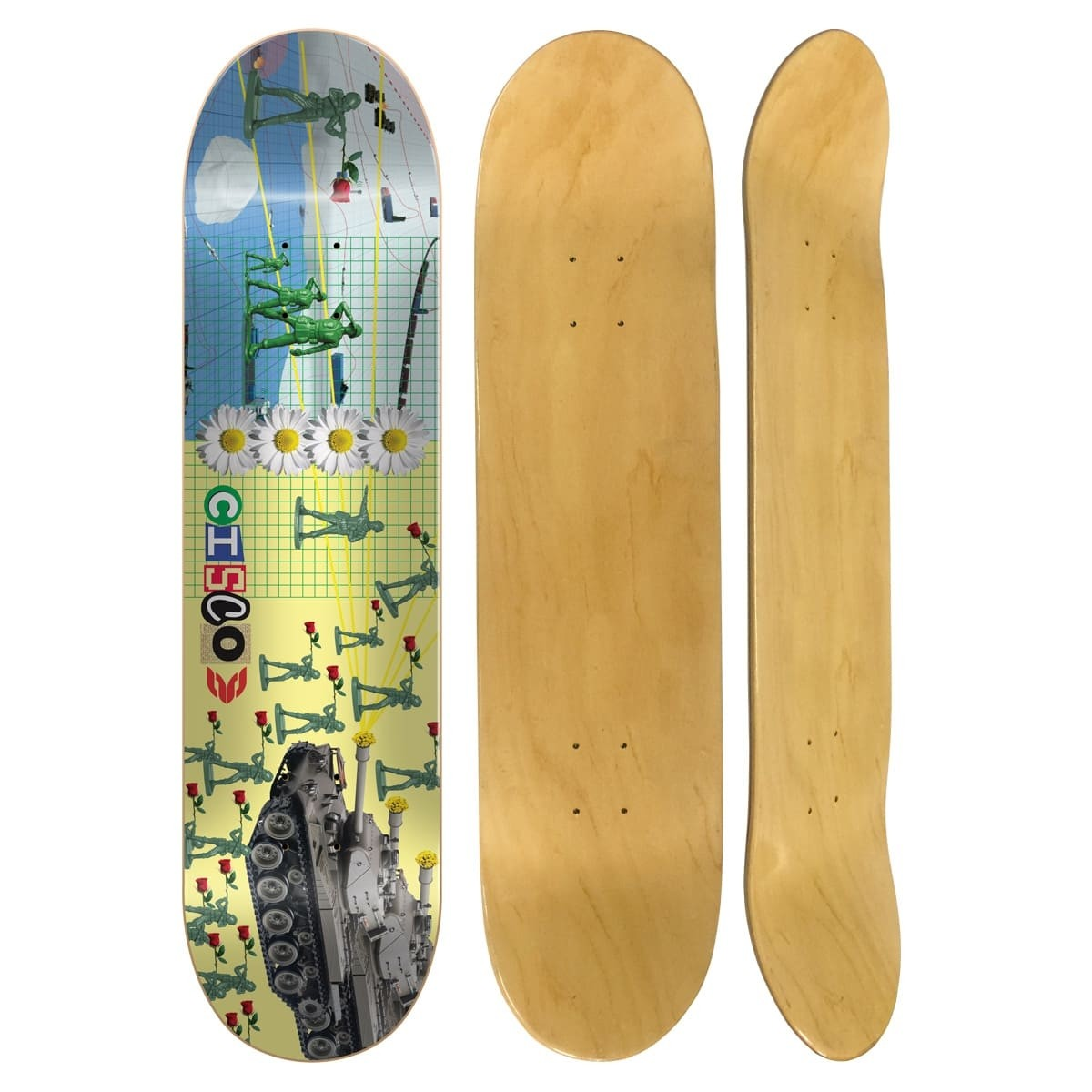 """Shape Cisco Skate Marfim Love 8.25"""""""