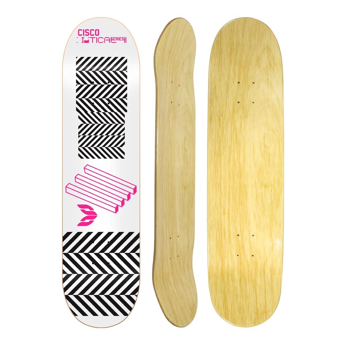 "Shape Cisco Skate Marfim Optical Pink 8"""