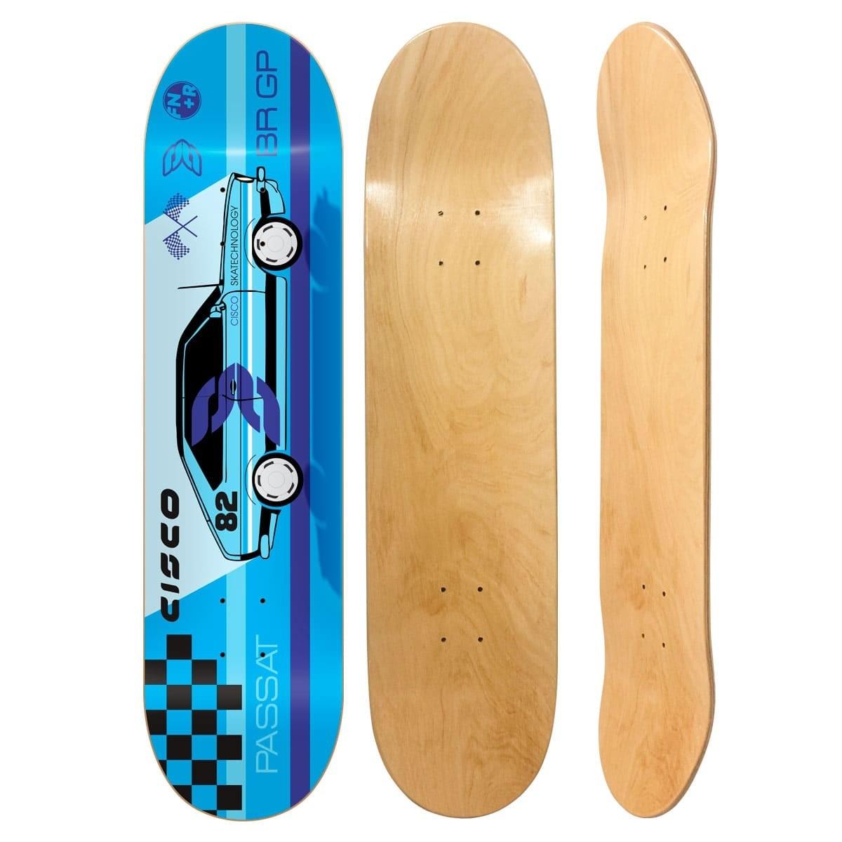 "Shape Cisco Skate Marfim Passat 8.125"""