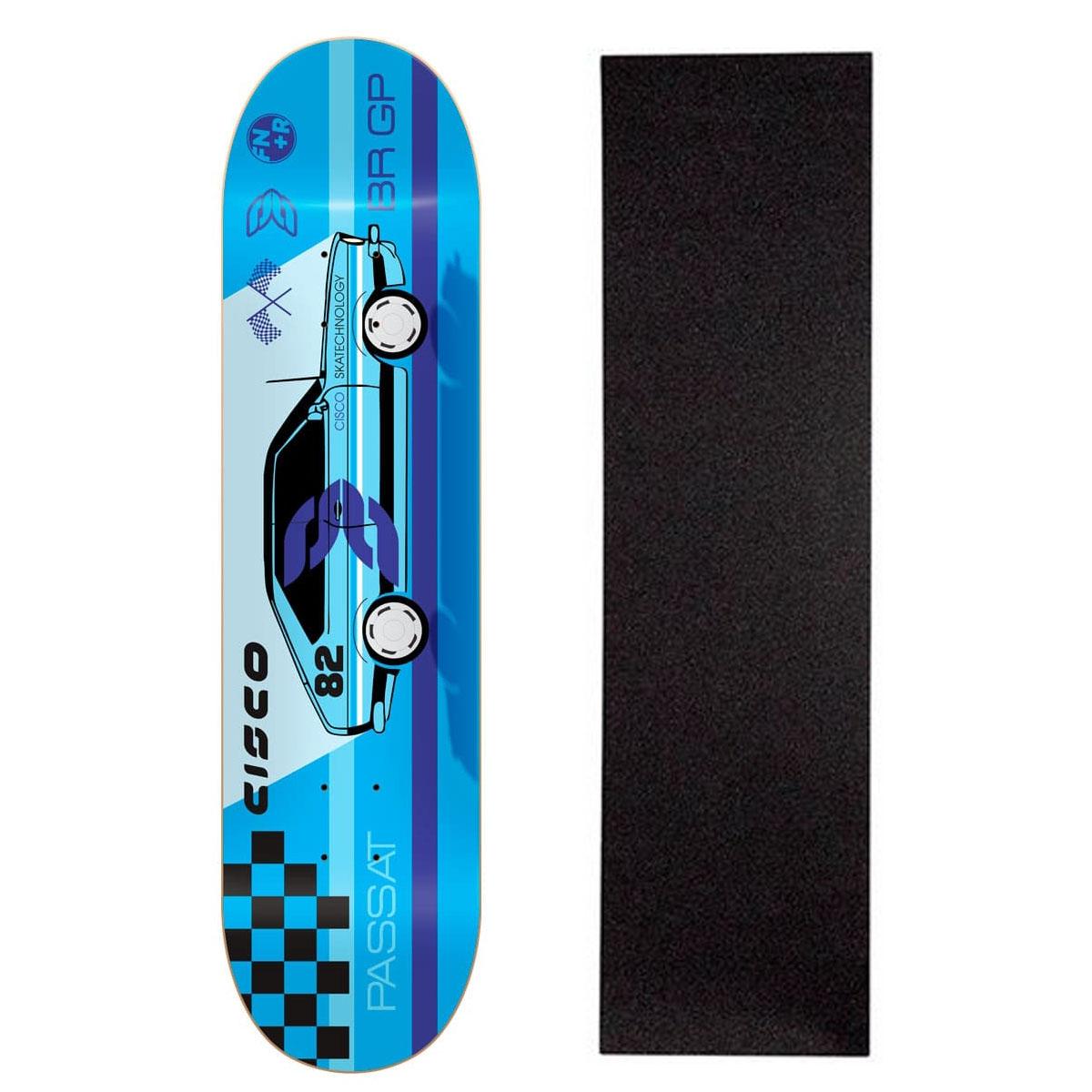 """Shape Cisco Skate Marfim Passat 8.125"""" + Lixa Grátis"""