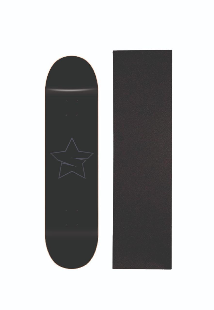 Shape de Skate Marfim Savior + Lixa Gratis