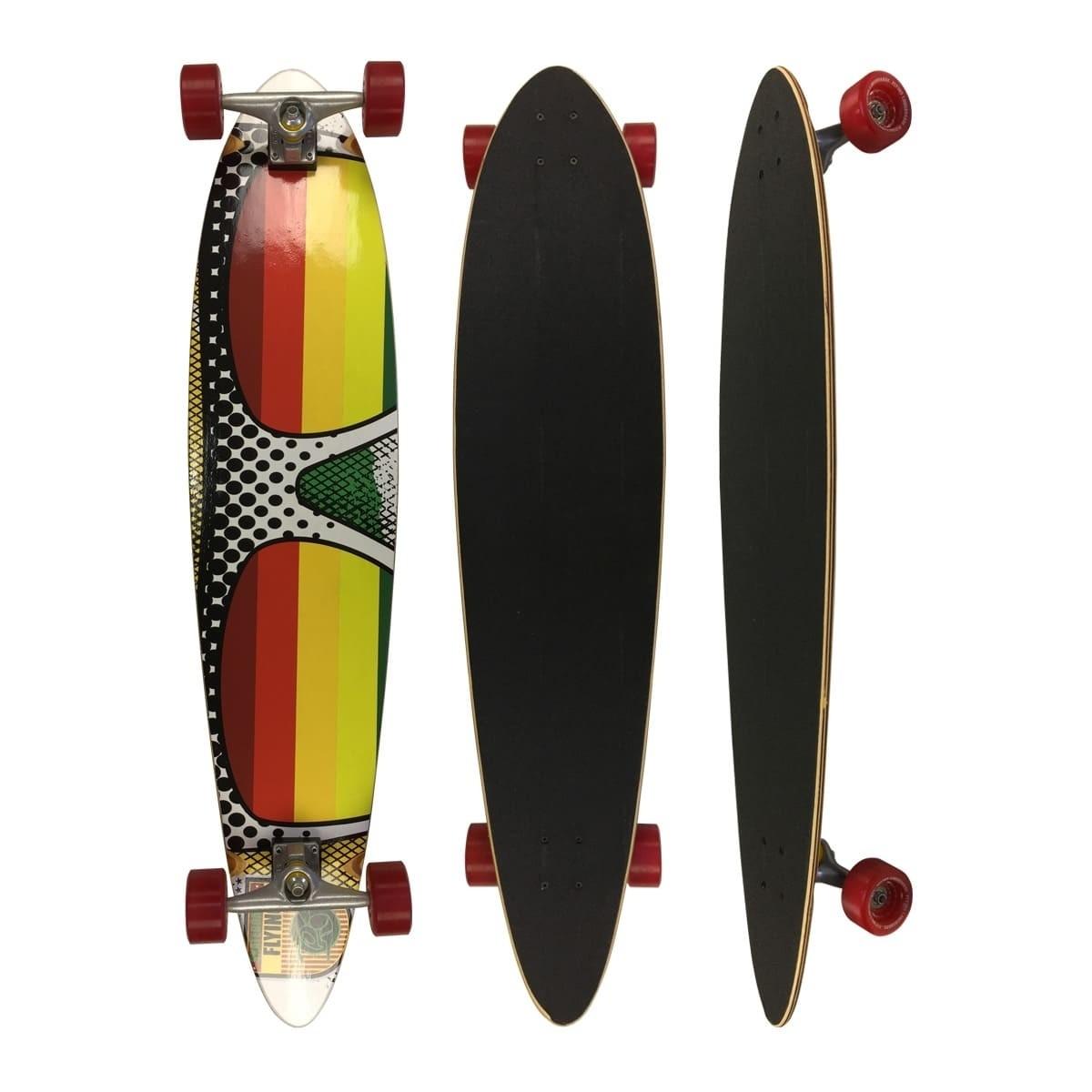 Skate Flying Longboards Speed Sunglass