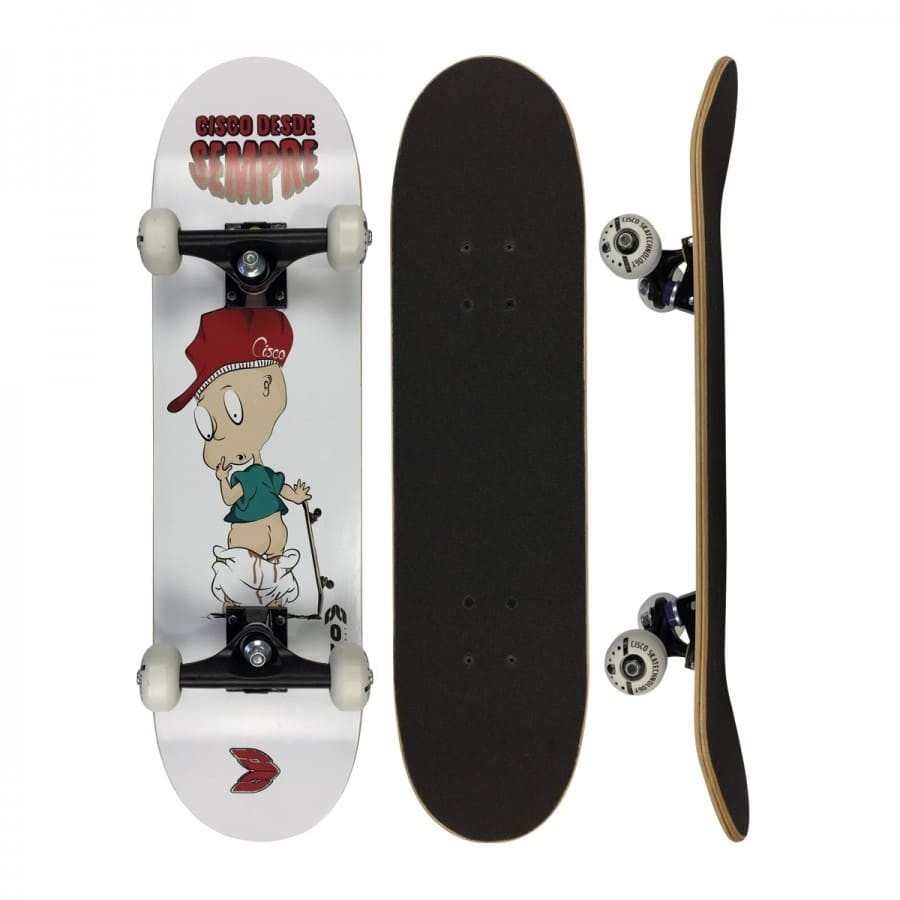 Skate Infantil Cisco Desde Sempre Little Boy 7.28""
